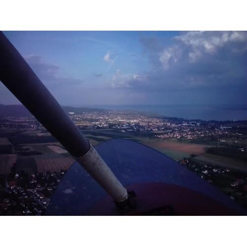 Gyrokopterezés vagy motoros sárkányozás Balaton héviz mellett